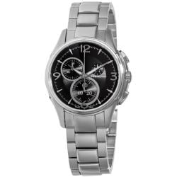 Hamilton Men's 'Jazzmaster' Stainless Steel Chronograph Watch