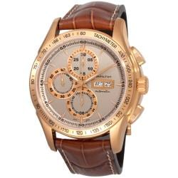 Hamilton Men's 'Lord Hamilton' Pink Gold PVD Chronograph Watch