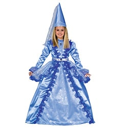 Dress Up America Girls' 'Blue Fairy' Costume