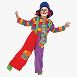 Dress Up America Boys' 'Colorful Clown' Costume 9357450