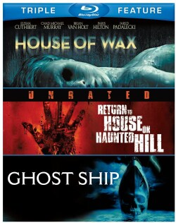 House Of Wax/Return To House On Haunted Hill/Ghost Ship (Blu-ray Disc) 9407744