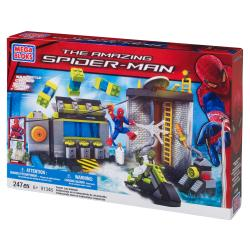 Mega Bloks Amazing Spider-Man Sewer Lab Headquarters Playset 9408569
