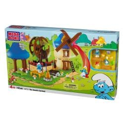 Mega Bloks Smurf Buildable Carnival Playset 9408579