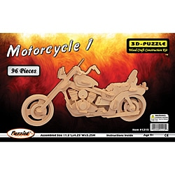 3D Motorcycle 96-piece Jigsaw Puzzle