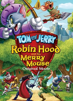 Tom And Jerry: Robin Hood And His Merry Mouse (DVD) 9421956