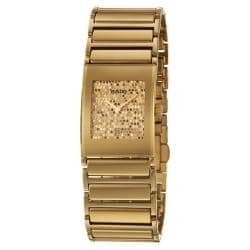 Rado Women's 'Integral' Gold-plated Stainless Steel Watch 9428861