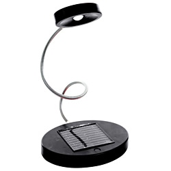 Trademark Home Solar Powered Flex LED Desk Lamp