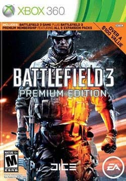 Electronic Arts Battlefield 3: Premium Edition, X360 19802