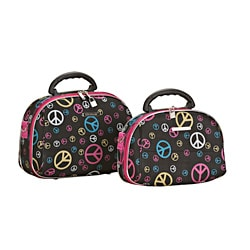 Luca Vergani Peace 2-piece Beauty Cosmetic Case Set