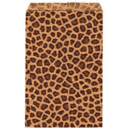 Caddy Bay Collection 200-piece Leopard Paper Gift Bags
