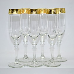 Italian Flute Wine Glass (Set of 6)