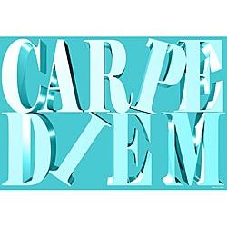Maxwell Dickson 'Carpe Diem' Modern Canvas Art Print