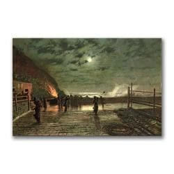 John Grimshaw 'In Peril' Medium Canvas Art