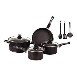 Gourmet Chef 10-piece Non Stick Cookware Set Fine Cheese, Oils, Balsamic -