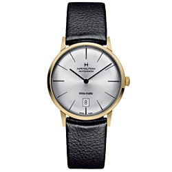 Hamilton Men's H38475751 Intra-Matic Gold Watch