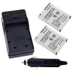 INSTEN Battery/ Battery Charger Set for Nikon EN-EL12/ CoolPix S1000pj