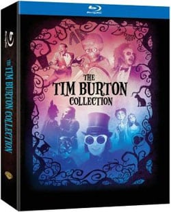 Tim Burton Collection and Book (Blu-ray Disc) 9486767