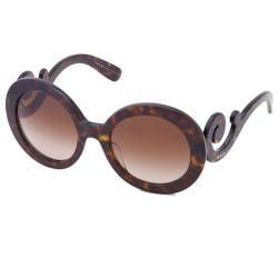 Prada PR 27NS 2AU6S1 Tortoise Minimal-Baroque Special Edition Womens Sunglasses