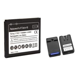 INSTEN Battery/ Desktop Charger for HTC Inspire 4G/ Desire HD