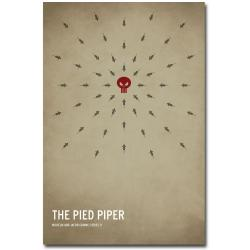Christian Jackson 'The Pied Piper' Canvas Art