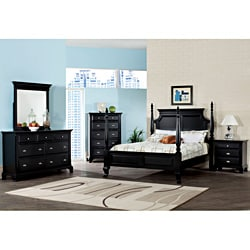 Canterbury Black Finish Wood Dresser