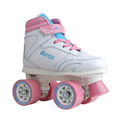 Chicago Skates Girls Sidewalk Skate with Padded Ankle Collar and Laces