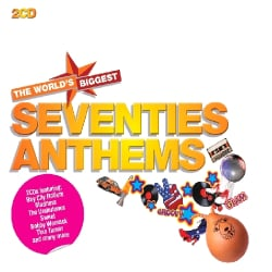 WORLD'S BIGGEST SEVENTIES ANTHEMS - WORLD'S BIGGEST SEVENTIES ANTHEMS 9513434