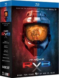 RVBX: Ten Years of Red Vs. Blue (Blu-ray Disc) 9518950