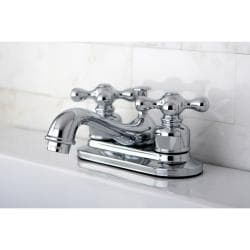 Chrome Classic Two-handle Bathroom Faucet (Pack of 2)