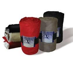 Deluxe Microsuede Plush Blanket