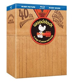 Woodstock: 3 Days of Peace and Music Director's Cut 40th Anniversary Ultimate Collectors Edition (Blu-ray Disc) 9607568