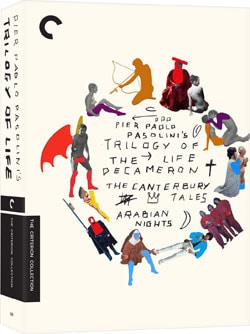 Trilogy of Life Box Set - Criterion Collection (DVD) 9644980
