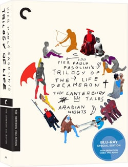Trilogy of Life Box Set - Criterion Collection (Blu-ray Disc) 9644987