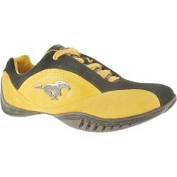 Men's Ford Mustang FM003 Gold/Black Leather/Suede