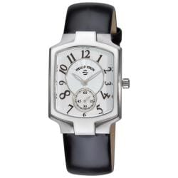 Philip Stein Women's 'Signature Classic' Black Strap Watch