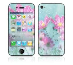 'Flower Springs' Apple iPhone 4 Vinyl Skin
