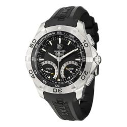 Tag Heuer Men's 'Aquaracer' Stainless Steel and Rubber Kinetic Watch
