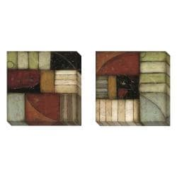 DeRosier 'Exile' Gallery 2-piece Art Set