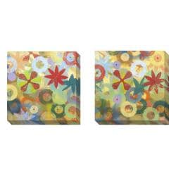 Packard 'Sweet Bloom' 2-piece Gallery Wrapped Canvas Art Set
