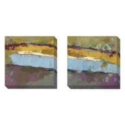 Maxine Price 'Untold Stories' 2-piece Gallery Wrapped Canvas Art Set