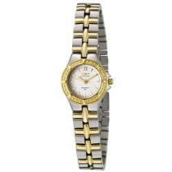 Invicta Women's 0136 Wildflower White Dial Two-tone Watch 7439538