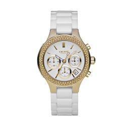 DKNY Women's White Ceramic Bracelet Watch