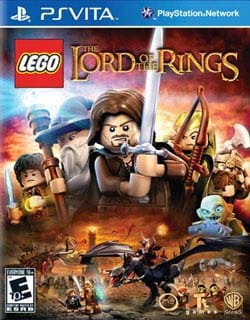 PS Vita - Lego Lord Of The Rings 9734501