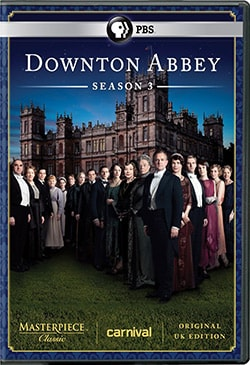 Masterpiece Classic: Downton Abbey: Season 3 (DVD) 9826775