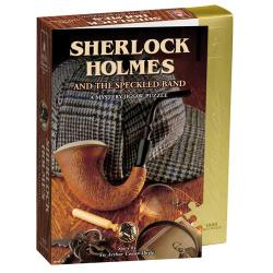 Sherlock Holmes and The Speckled Band Mystery 1000-piece Jigsaw Puzzle