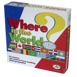 Where in the World? Board Game 7499199