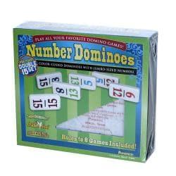 Number Dominoes Double 15 Set