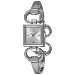 de9f40a2f3f Gucci Women s  Tornabuoni  Silver Dial Bangle Watch (7528524 ...