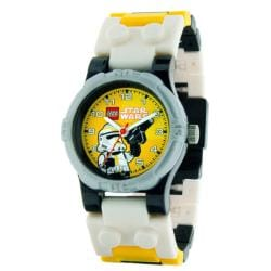 LEGO Star Wars Storm Trooper Kid's Minifigure Interchangeable Links Watch