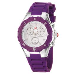 Michele Women's 'Tahitian Jelly Beans' Purple Silicon Quartz Watch